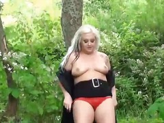 Ah-Me Movie:Blonde goth babes bbw flashing...