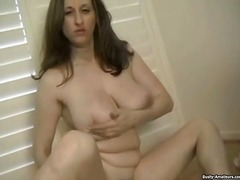 wanking, solo, real, homemade, bbw