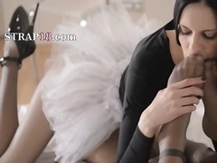 IcePorn Movie:Fashionable babes with strapon...