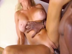 Blonde mature massage ...