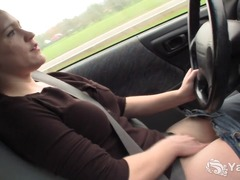 Alpha Porno - Sexy lou driving and r...