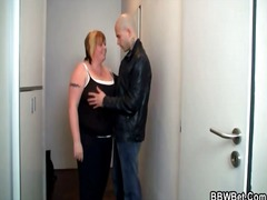 Fat girl fondled in th... video