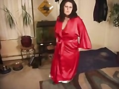 Lady Satin Looking Ele... video