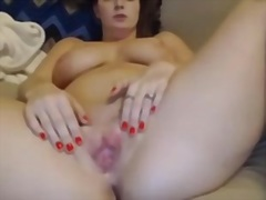 Milf pussy play with vibe video