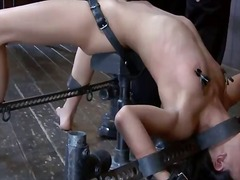 Lyla storm has chained... preview