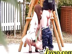 Redtube Movie:Japanese wife outdoor