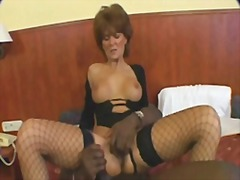 mature, interracial, milf, hairy,