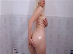 Sexy blonde, anal big ... video