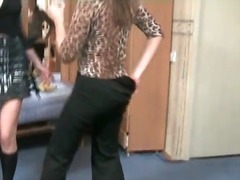 Drunk girls dance and ... video