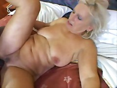 blonde, interracial, mature, milf