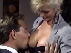 vintage, retro, riding, oral, blonde, pornstar