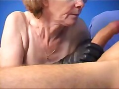 French hairy granny video