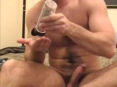 See: Nasty gay guys jerking...