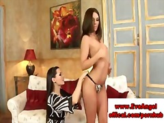 Lesbian hottie eve angel loves to sixtynine