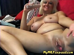 My milf exposed - granny milf playing...