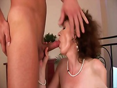 hairy, mature, brunette, blowjob