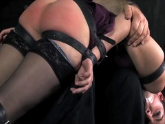 See: Blind girl bound and s...
