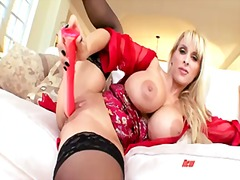 holly halston,  dildo, milf, shaved,