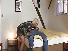couple, blonde, masturbation