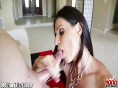 Tube8 - India summer's face is full of dropping cum!