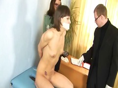 Tube8 Movie:Gyno exam for sweet brunette babe