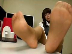Xhamster Movie:Japanese office girl nylon feet