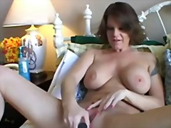 milf, shaved, brunette, pussy, busty,