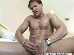 mature, masturbation, solo, hunk