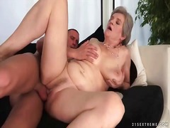 granny, oral, blowjob, lady, grandma