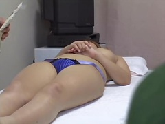 Voyeur Hit Movie:Hidden cam massage video of ho...