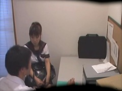 Cute Japanese teen dic... video