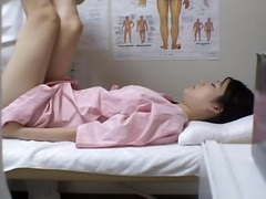 Noisy tender Asian chick getting licked by her massage therapist really masterfully