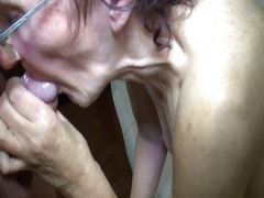 granny, old, oral,