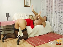 heels, adult, blonde, spreading, cumshot