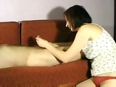 Private Home Clips Movie:Hot wife giving great handjobs