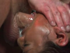 Extreme caged asian bl... video