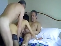 French mature loves tr... video