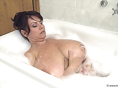 milena busty milf boobs and bulbs