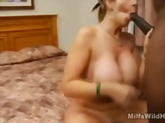 Busty milf sara jay takes on a black ...