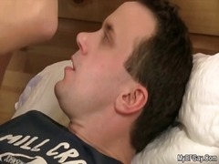 Alpha Porno Movie:Tight shaved ass fucked by sex...