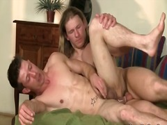 Alpha Porno Movie:Long haired top has hot anal s...