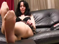 nylons, stockings, soles, milf, kinky