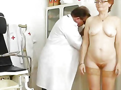 mature, speculum, hospital, bizarre