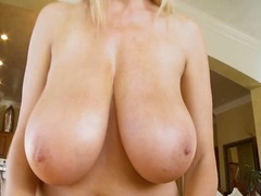 jerking, babe, shaved, milf, tits,