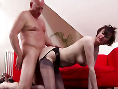 heels, stocking, mommy, blowjob,
