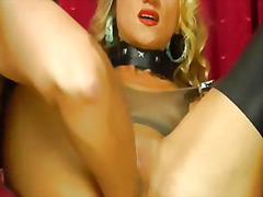 blonde, latex, wife, babe, fisting