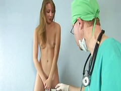 Examined by horny gynecologist
