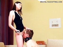 rimjob, pussy, eating, femdom,