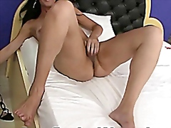 Horny Lady Boy Jerking... video