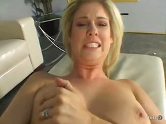 shaved, blonde, wet, solo, vibrator, babe